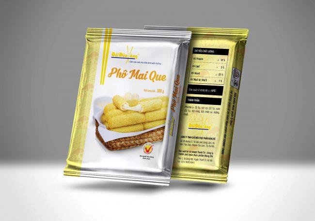 Hình ảnh phomai que thương hiệu Đôi Đũa Vàng