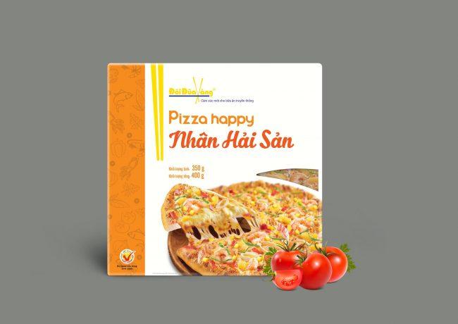 Hình ảnh Pizza nhân hải sản thương hiệu Đôi Đũa Vàng