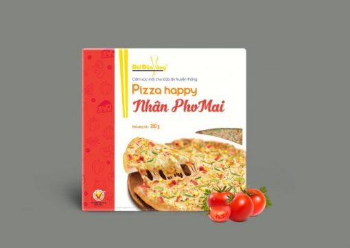 Hình ảnh pizza nhân phomai thương hiệu Đôi Đũa Vàng