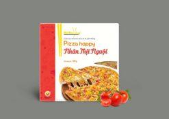Hình ảnh pizza nhân thịt nguội thương hiệu Đôi Đũa Vàng