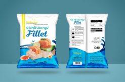 Hình ảnh cá hồi Fillet thương hiệu Đôi Đũa Vàng