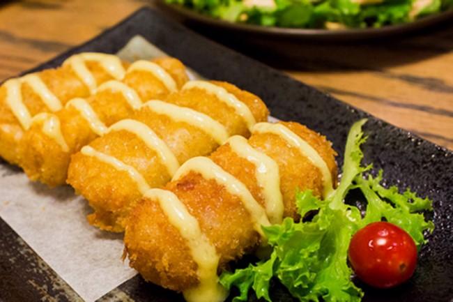 Trang trí món ăn nem kem bơ