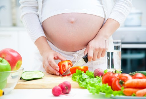 Rau xanh thực phẩm tốt cho bà bầu