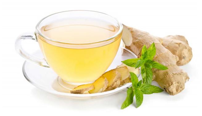 Hãy thử một ly trà gừng
