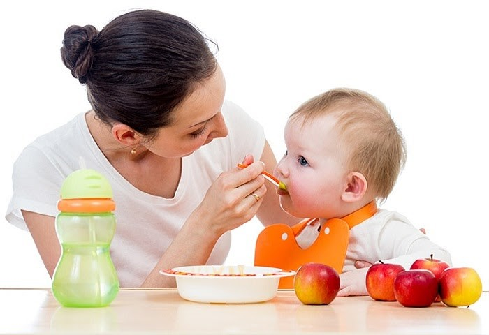 ăn dặm bổ dưỡng với thực phẩm sạch