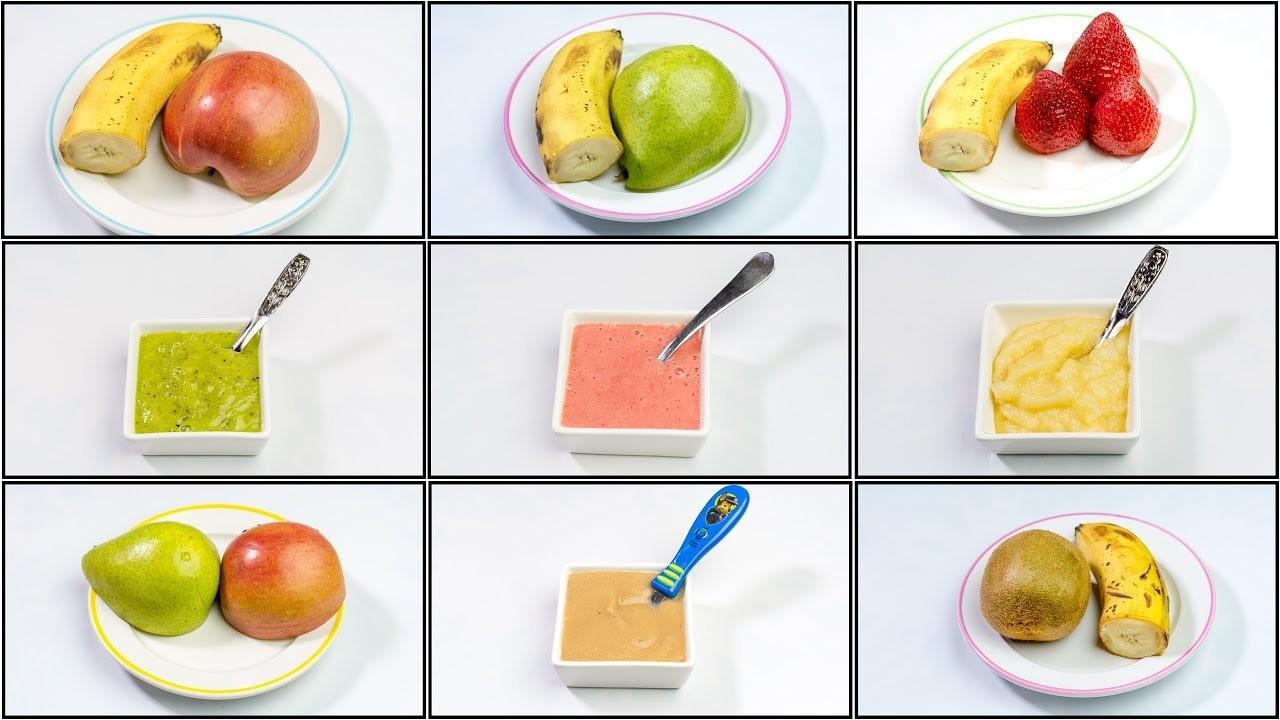 bổ sung 200g - 300g trái cây mỗi ngày cho bé