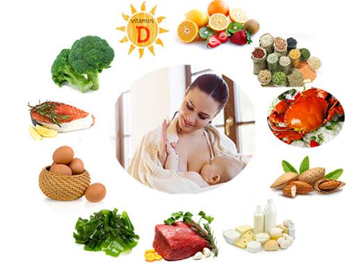 Chế độ ăn uống sau sinh dành cho mẹ bầu