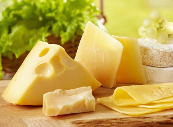 phô mai thực phẩm giàu vitamin