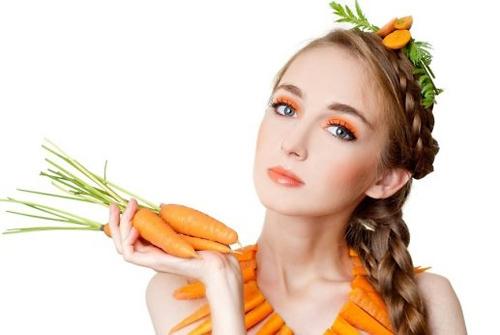 Cà rốt giúp làn da của bạn trở nên đẹp hơn