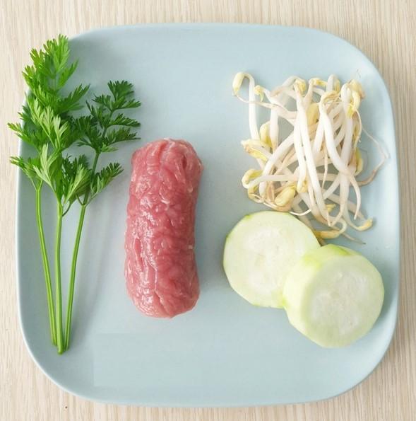 Nguyên liệu làm thịt bò mướp giá