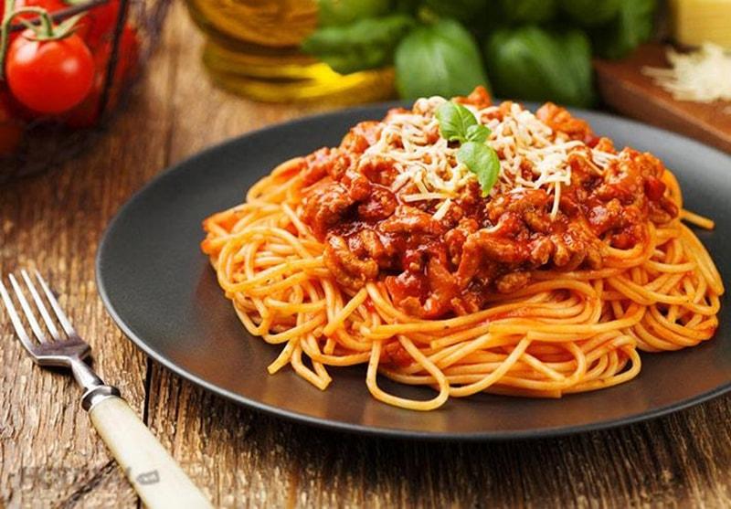 Mỳ Ý Sốt Bò Băm