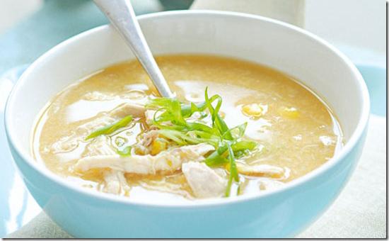 Cách nấu súp gà khoai lang
