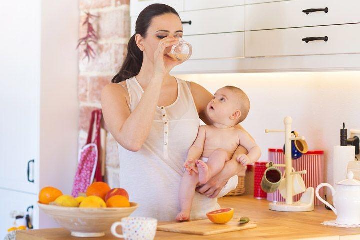 Thực hiện giảm cân khi cơ thể mẹ bầu hồi phục