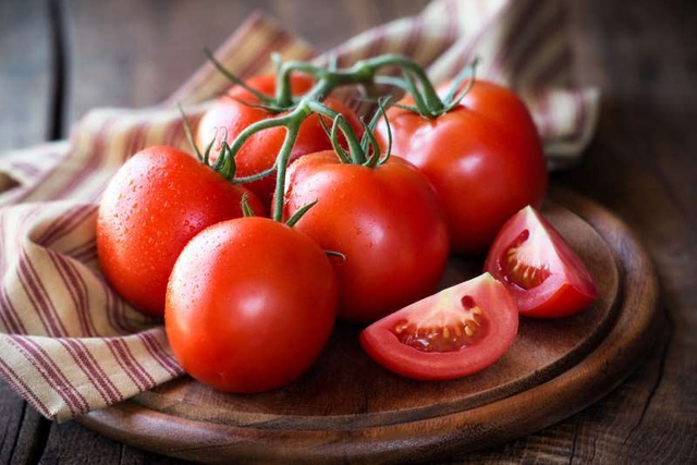 Cà chua tốt cho người bị thiếu máu