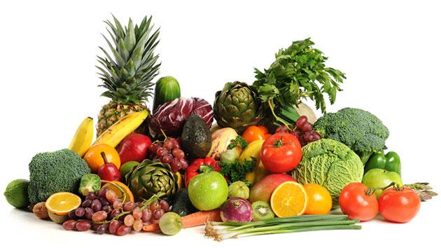 Các loại rau củ quả giàu vitamin