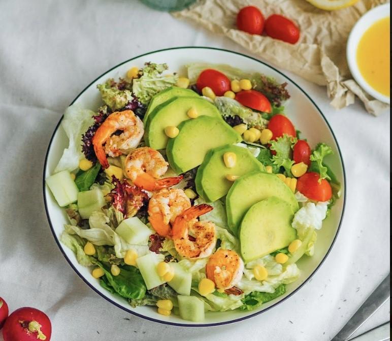 salad cho người tập gym