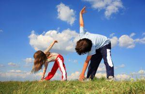 Tập thể dục cho bé