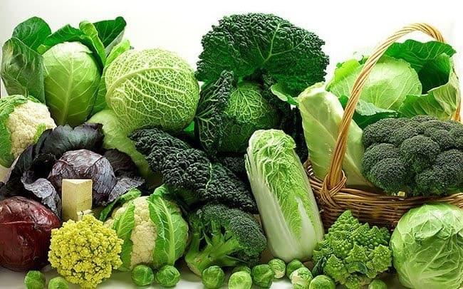 Bà bầu nên ăn nhiều rau xanh
