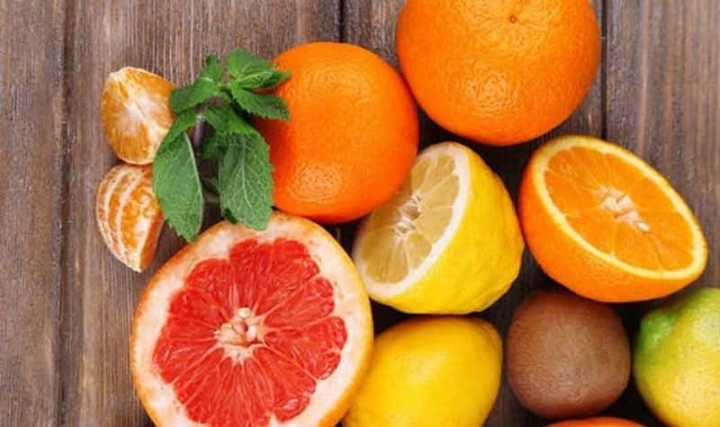 bưởi cam chanh giàu vitamin C
