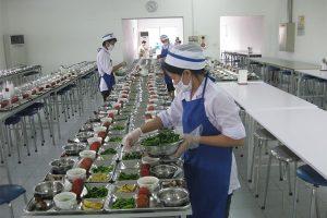 cung cấp thực phẩm cho bếp ăn công nghiệp