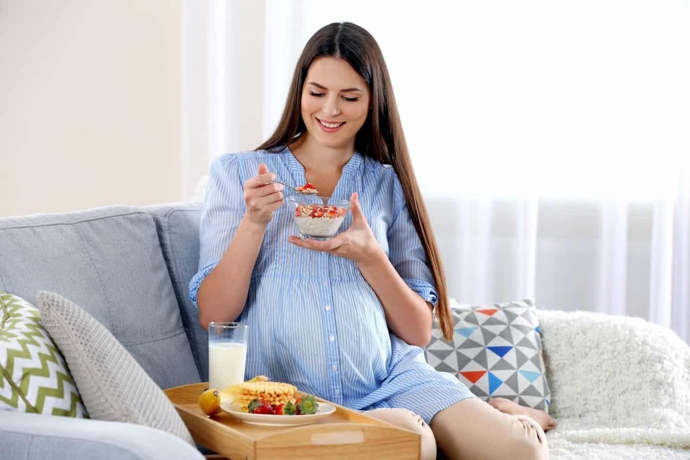 Những thực phẩm cần thiết cho bà bầu