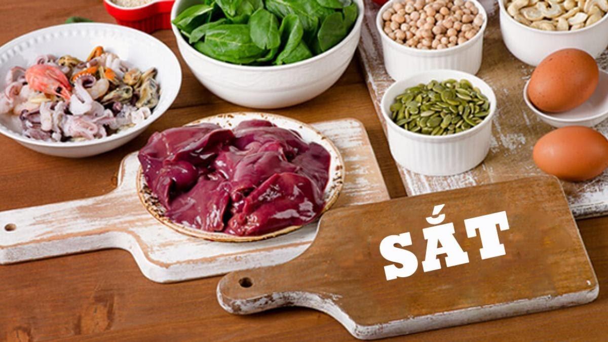 thực phẩm cung cấp kẽm và sắt