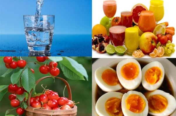 Chế độ dinh dưỡng cho người bị gout