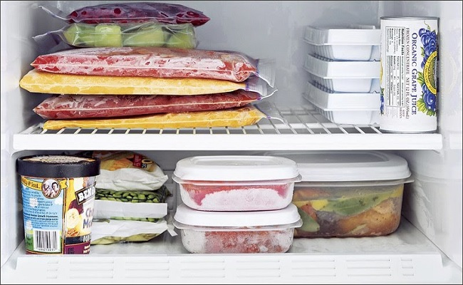 Những thực phẩm bảo quản trong ngăn đá