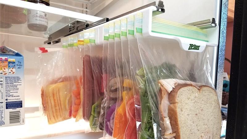 Sử dụng túi treo thực phẩm