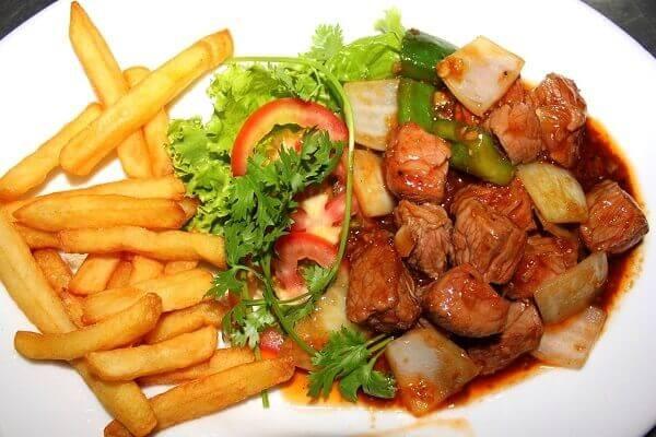 Hướng dẫn cách làm thịt bò xào khoai tây